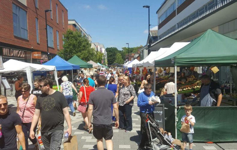 Camberley Farmers & Artisan Market – Saturday 15th June