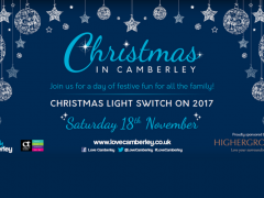 Camberley Christmas Lights Switch On 2017